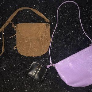 Handbags - 2 purses & a wristlet